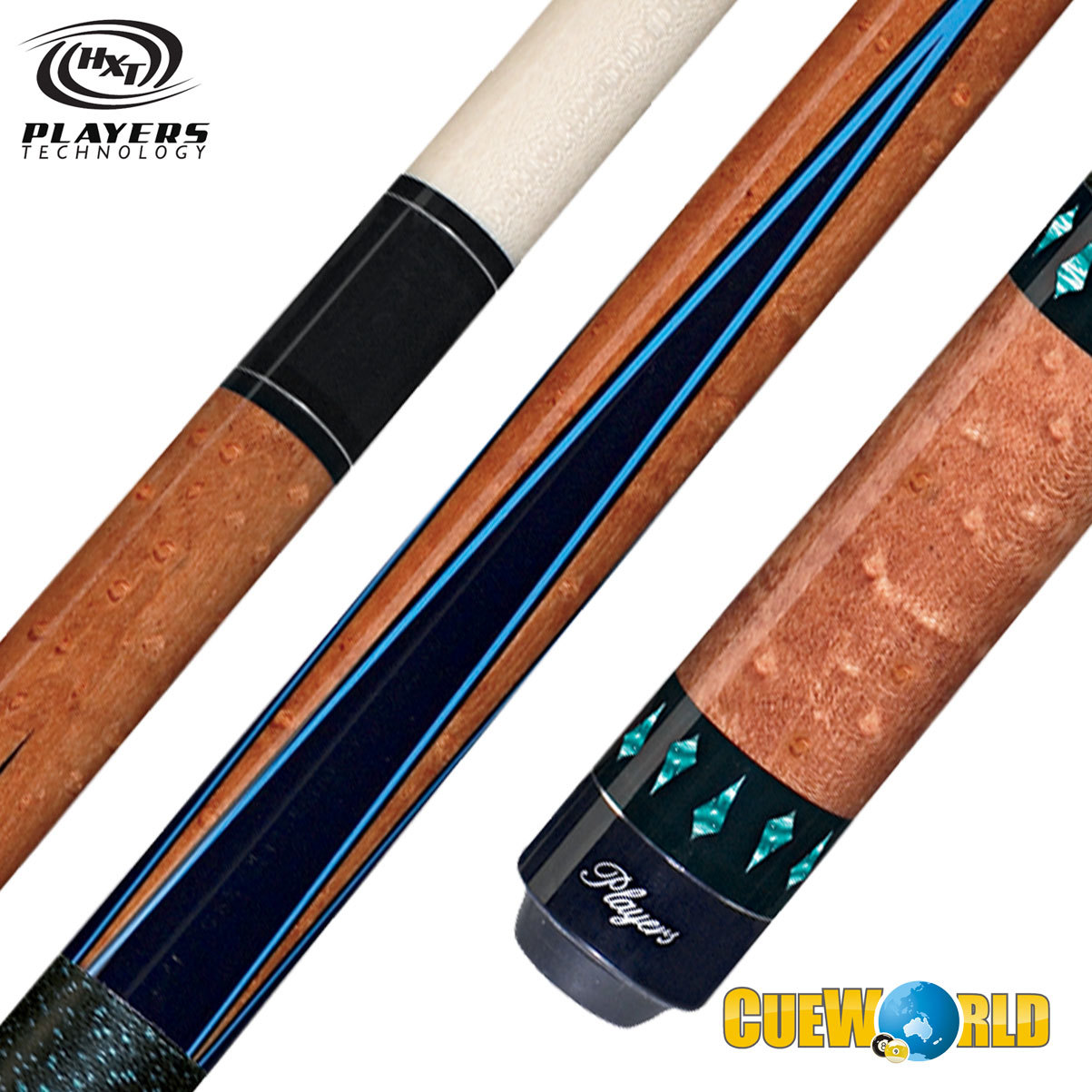 PLAYERS HXT30 POOL CUE 13MM