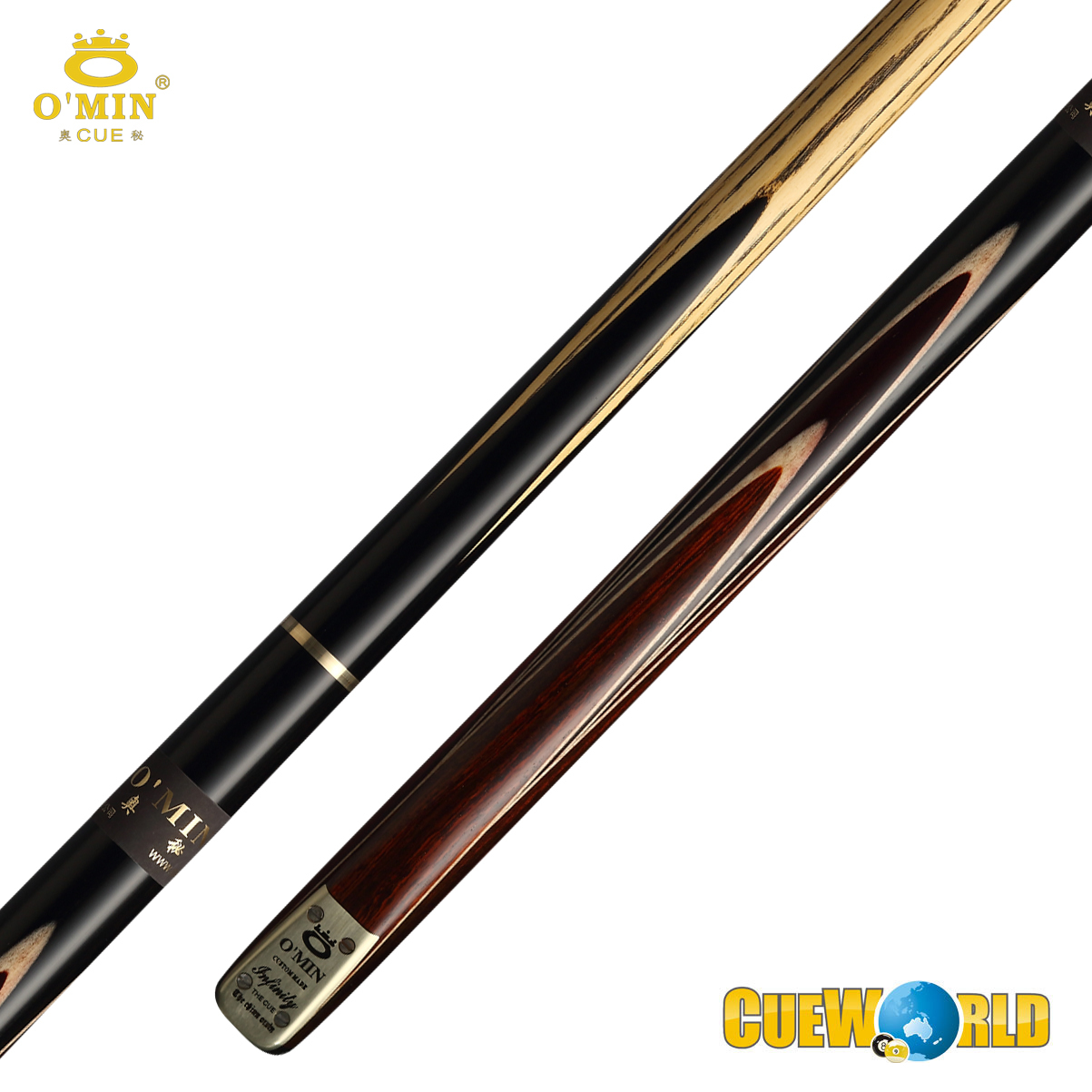 OMIN Snooker Cue Infinity 3/4