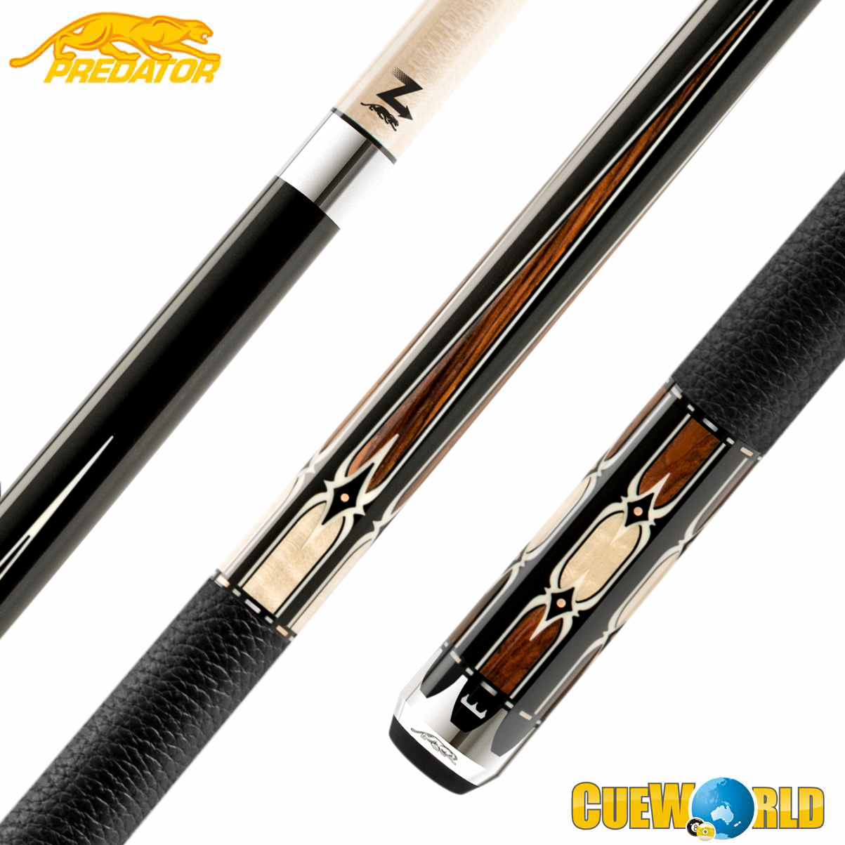 PREDATOR THRONE 2-4 POOL CUE 13MM
