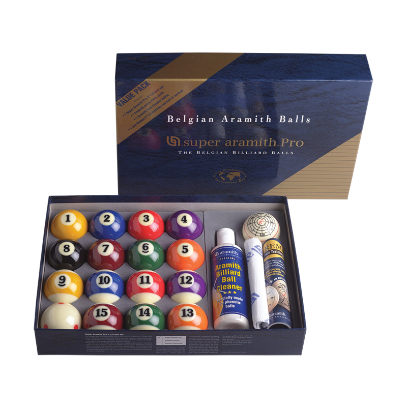 "Super Aramith Pro 2 1/4"" Billiard Ball Value Pack"