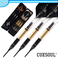 CUESOUL 16g Black Dragon Coated Brass Dart (CSJL-04)
