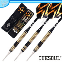 CUESOUL 16g Black Dragon Coated Brass Dart (CSJL-07)