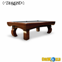 DIAMOND PARAGON DROP POCKET POOL TABLE CHERRY 9FT