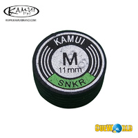 Kamui Black M Snooker Tip 11mm