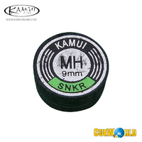 Kamui Black MH Snooker Tip 9mm